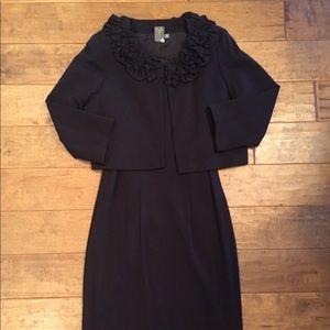 Dark Brown Dress & Jacket